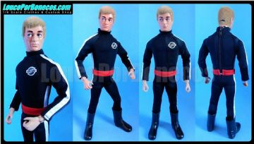 LoucoPorBonecos - FALCON - The Lost Scientist version 2 Uniform for Action Man, Gi Joe Etc